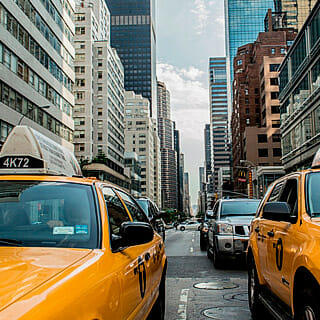 Paises USA taxis